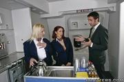 slutty flight attendant proves