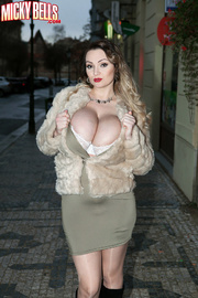 In sex fur and vintage stockings mature coat words... super