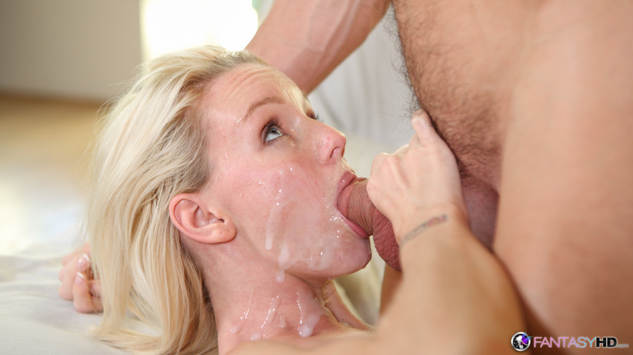 Thin blonde with very small boobs gets a cu - XXX Dessert ...