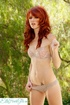 steaming hot redhead displays