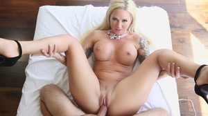 Grabbing this blonde, by her hair, he fo - XXX Dessert - Picture 16
