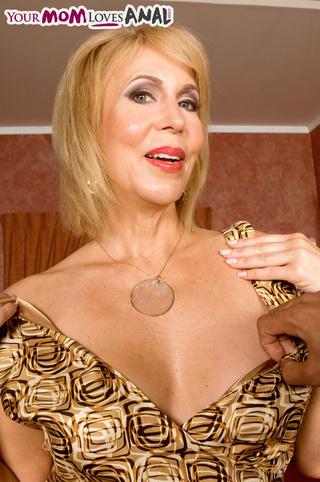 cute tits blonde mama