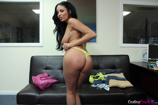 wildly hot tanned latina