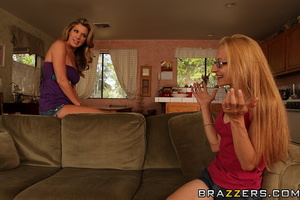 Hot mom gets a big facial from her daugh - XXX Dessert - Picture 8
