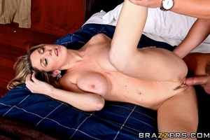 Sexy housewife gets horny and fucks the  - XXX Dessert - Picture 15