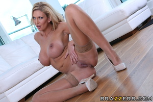 Cockhungry milf gets caught sucking her  - XXX Dessert - Picture 8