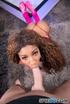 luscious ebony teases with