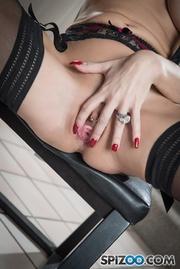 alluring hottie black lingerie
