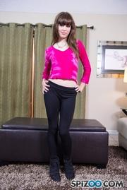 skinny babe pink shirt