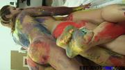 four crazy lesbian painters