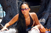 luscious babe with sunglasses