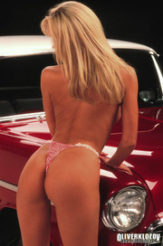 steaming hot blonde red