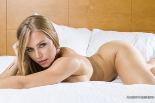 slim blonde light colored