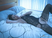 early morning masturbation from