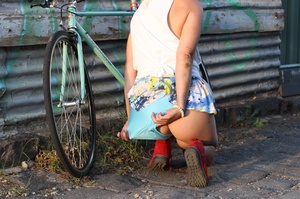 Blonde babe with foxy body goes out biki - XXX Dessert - Picture 9