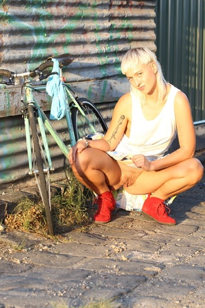 Blonde babe with foxy body goes out biki - XXX Dessert - Picture 10
