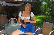 hot french maid drinks