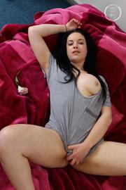 banging babe shows her