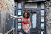 foxy chick strips off