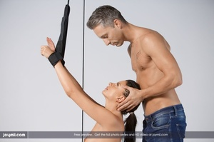 Luscious babe teases a handsome dude wit - XXX Dessert - Picture 8