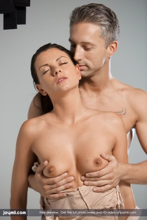 Luscious babe teases a handsome dude wit - XXX Dessert - Picture 10