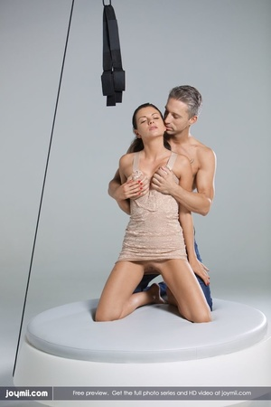 Luscious babe teases a handsome dude wit - XXX Dessert - Picture 12