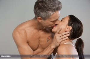 Luscious babe teases a handsome dude wit - XXX Dessert - Picture 13
