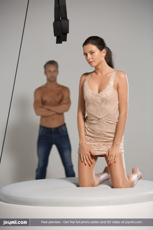 Luscious babe teases a handsome dude wit - XXX Dessert - Picture 16