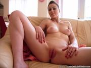 big boobed brunette pink