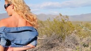 outdoors stripping and masturbation