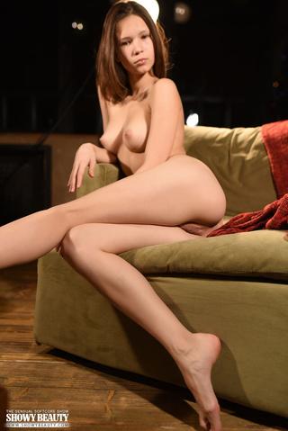alluring babe teases skinny