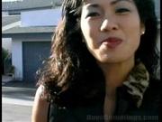 exotic brunette asian chick
