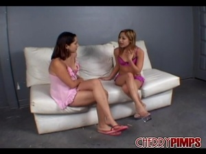 Pink and purple lingerie girlfriend get  - XXX Dessert - Picture 2