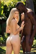black, blonde, interracial, swimsuit