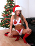 christmas-themed masturbation from exotic
