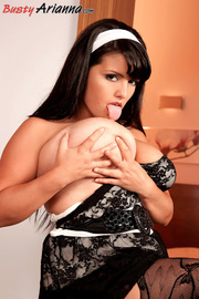 stockings-clad fat girl gets