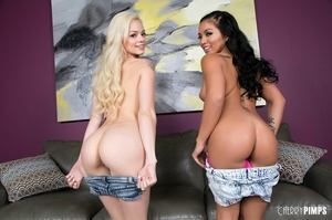 Yellow top petite blonde gets fucked by  - XXX Dessert - Picture 5