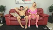 stripper heels blonde gets