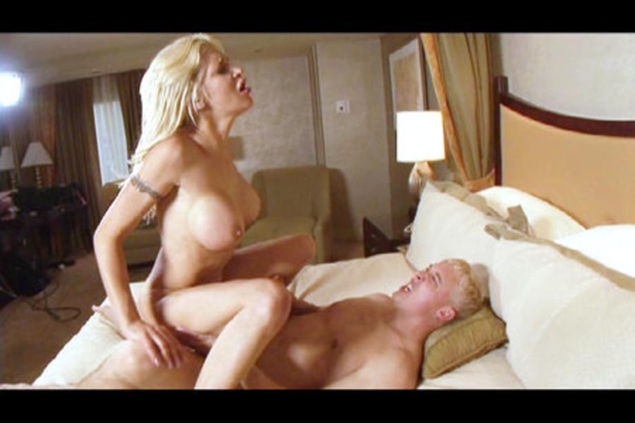 Skinny Russian Blonde Big Tits