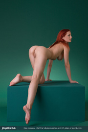 luscious redhead with big