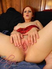 crazy redhead with mesmerizing