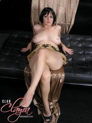 slutty ivory skinned babe