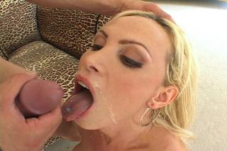 hot blonde slut tongue