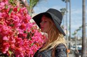 hot blondie floral dress