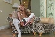 high heeled ebony white