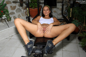 Two gym-going brunettes fucking each oth - XXX Dessert - Picture 2