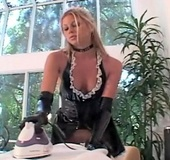 Three babes in tight latex outfit tasting one other pussy juices and dildoing