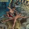 Blonde dude's torture at the hands of a Mayan sex goddess.Maya Adventure