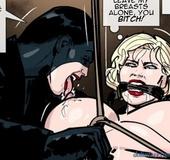 Gimp-like brunette almost bit off her prey's nipple.Prison Horror Story