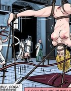 Insane asylum's torture orgy room filled with hot chicks.Prison Horror